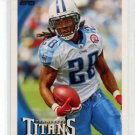 CHRIS JOHNSON 2010 Topps #40 Tennessee Titans RB