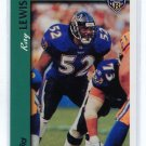 RAY LEWIS 2010 Topps REPRINT INSERT Ravens MIAMI CANES Hurricanes