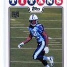 CHRIS JOHNSON 2010 Topps REPRINT INSERT Titans