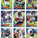 (10) Chicago BEARS New 2010 Topps TEAM LOT Stars