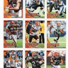(9) Cleveland BROWNS New 2010 Topps TEAM LOT Stars