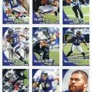 (11) Baltimore RAVENS New 2010 Topps TEAM LOT Stars