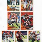 (7) Cincinnati BENGALS New 2010 Topps TEAM LOT Stars
