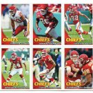 (6) Kansas City KC CHIEFS New 2010 Topps TEAM LOT Stars