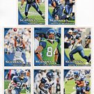 (8) Seattle SEAHAWKS New 2010 Topps TEAM LOT Stars