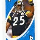 RYAN CLARK 2009 Uno Card Game BLUE-4 Steelers LSU Tigers
