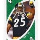 RYAN CLARK 2009 Uno Card Game GREEN-4 Steelers LSU Tigers