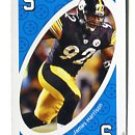 JAMES HARRISON 2009 Uno Card Game BLUE-5 Steelers