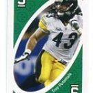 TROY POLAMALU 2009 Uno Card Game GREEN-9 Steelers SOUTHERN CAL USC Trojans