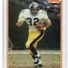 FRANCO HARRIS 1982 Topps IA #212 STEELERS Penn State