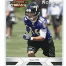 DAVID REED 2010 Panini Threads #223 ROOKIE Ravens UTAH UTES