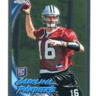TONY PIKE 2010 Topps Chrome ROOKIE Panthers CINCINNATI Bearcats QB