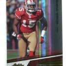 MICHAEL CRABTREE 2010 Playoff Absolute #84 Texas Tech Red Raiders 49ers
