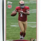 NATE DAVIS 2009 Topps #413 ROOKIE 49ers BALL STATE QB