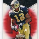 MARQUES COLTSON 2009 Topps Triple Threads RED SP #67 New Orleans Saints #d/799