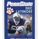 ERIC LATIMORE 2010 Penn State Second Mile DE