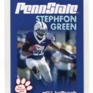 STEPHFON GREEN 2010 Penn State Second Mile RB