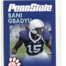 BANI GBADYU 2010 Penn State Second Mile LINEBACKER