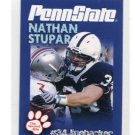 NATHAN NATE STUPAR 2010 Penn State Second Mile College Card OAKLAND Raiders LB