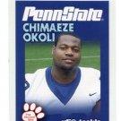 CHIMAEZE OKOLI 2010 Penn State Second Mile TACKLE