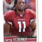 LARRY FITZGERALD 2010 Panini Sticker #474 Cardinals PITT PANTHERS