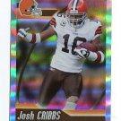 JOSH JOSHUA CRIBBS 2010 Panini Sticker HOLOFOIL #135 Browns