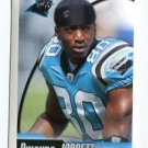 DWAYNE JARRETT 2010 Panini Sticker #433 Carolina Panthers USC Trojans