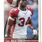 TIM HIGHTOWER 2010 Panini Sticker #477 Arizona Cardinals