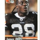 JAMES DAVIS 2010 Panini Sticker #128 Browns CLEMSON Tigers