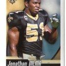JONATHAN VILMA 2010 Panini Sticker #449 Saints MIAMI CANES Hurricanes
