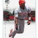 JIMMY ROLLINS 2008 SP Authentic  #28 Phillies