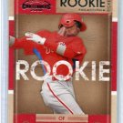 DOMINIC DOMONIC BROWN 2008 Playoff Contenders #21 ROOKIE Phillies
