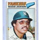 REGGIE JACKSON 1977 Topps #10 New York NY Yankees  -  BV $10