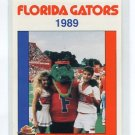 ALBERT with CHEERLEADERS 1989 Florida Gators Police Set card