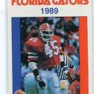 PAT MOORER 1989 Florida Gators Police Set card LB