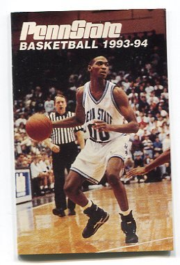 MICHAEL JENNINGS 1993-94 Penn State Basketball Schedule FULL SIZE