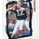 KERRY COLLINS 1995 Score #256 ROOKIE Penn State PANTHERS QB