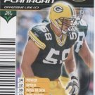 MIKE FLANAGAN 2002 NFL Showdown #120 Green Bay GB Packers UCLA BRUINS