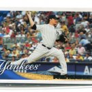 PHIL HUGHES 2010 Topps #379 New York NY Yankees