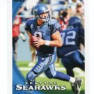 MATT HASSELBECK 2010 Topps #342 Seahawks BOSTON COLLEGE QB