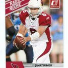 MAX HALL 2010 Panini Donruss Rated Rookie CARDINALS BYU Cougars QB