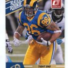 MICHAEL HOOMANAWANUI 2010 Panini Donruss Rated Rookie RAMS Illinois Illini