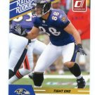 DENNIS PITTA 2010 Panini Donruss Rated Rookie RAVENS BYU Cougars