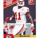 JEREMY HORNE 2010 Panini Donruss Rated Rookie KC CHIEFS UMASS