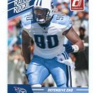 DERRICK MORGAN 2010 Panini Donruss Rated Rookie TITANS Georgia Tech