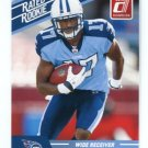 DAMIAN WILLIAMS 2010 Panini Donruss Rated Rookie TITANS USC Trojans