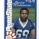 JASON ROBINSON 2004 Penn State Second Mile College card PRE-ROOKIE