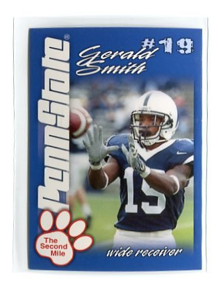GERALD SMITH 2004 Penn State Second Mile College card PRE-ROOKIE