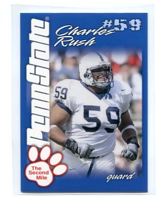 CHARLES RUSH 2004 Penn State Second Mile College card PRE-ROOKIE