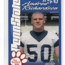 ANDREW RICHARDSON 2004 Penn State Second Mile College card PRE-ROOKIE